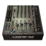 Allen & Heath Xone:92 Fader Professional 6 Channel Club/dj M
