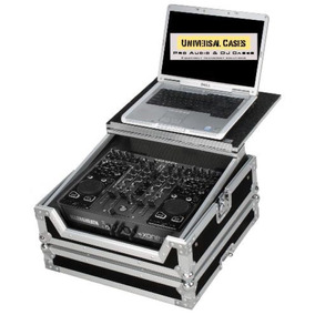 Flight Case Para Xone Dx Com Suporte Deslizante Notebook