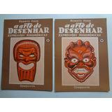 Revistas A Arte De Desenhar Expressões Fisionômicas
