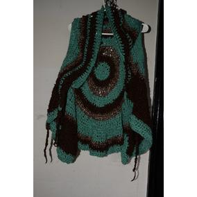 Chaleco Mujer Tejido A Crochet Muy Buen Estado
