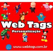 100 Tags, Topper, Apliques Para Festas (qualquer Tema)