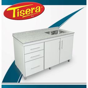 Bajo Mesada Mueble Cocina Aluminio 180 Fabrica Tisera Mbm-18