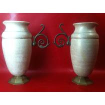 Jarrones Antiguos-vintage-bronce-y Marylin Monroe
