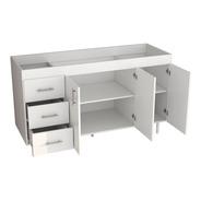 Mueble Para Cocina Bajo Mesada 1,6 M En Melamina Sin Bacha - Mosconi 10136