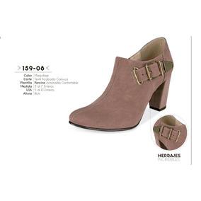 Zapato Color Maquillaje Linea Confort 159-08 Cklass