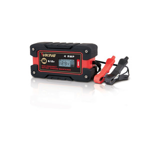 Cargador De Baterias 6/12 Volts 4 Amp Para Carro Viking