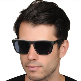 Óculos Masculino Quiksilver Quadrado Preto The Ferris Fosco