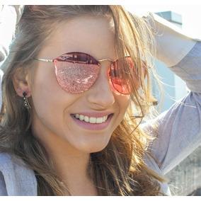 Oculos Feminino Rayban Espelhado Rosa - Óculos De Sol no Mercado ... ce30b40e7b