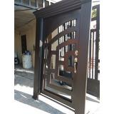Puerta Principal Contemporánea De 1.50x2.60