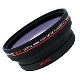Digital Video .5x 72mm Lente Gran Angular Para Canon Xl1...