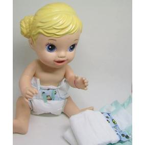 50 Fraldas Descartáveis P\ Bonecas Baby Alive