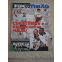 Superposter Timão Corinthians Campeão Paulista De 1997