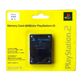 Memory Card Ps2 Original 8mb Sony Blister