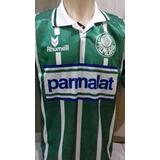 Nova Camisa Do Palmeiras Parmalat - Verde Retro