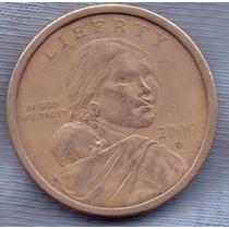 Estados Unidos 1 Dollar 2000 D * Sacajawea * Aguila *