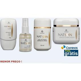 Natskin 4produtos Limpeza Hidratação, Antienvelhecimento