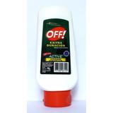 Off Extraduración Active Crema X 90 Gr Repelente De Insectos