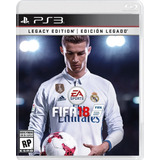 Fifa 18 Legacy Edition Ps3 Entrega Hoy