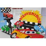 Combo Piñata Chupetera Bienvenido Cotillones De Cars