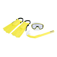 Kit Infantil Para Mergulho Nautika Ntk - Pacific - Amarelo