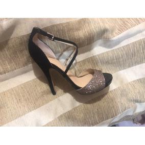 Hermosas Y Sexys Zapatillas Victoria´s Secret En Color Negro 50a01969a285