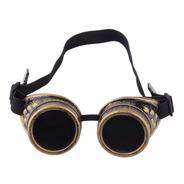 Óculos Steampunk Retrô Vintage Gótico Rock 18cm