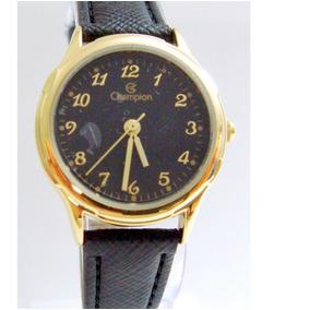 9ecd007f4a8 Relógio Feminino Champion Couro Social Ch25114n
