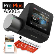 Camera Veiculo Automotiva Xiaomi 70mai A500 Pro Plus + 64gb