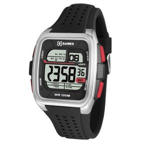 5d580b7bc45 Relogios X Games Digital Vermelho Masculino - Relógios De Pulso no ...