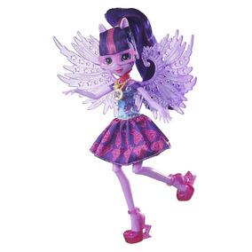 Boneca My Little Pony Equestria Girl Luxo Loe Pony Up - Twil