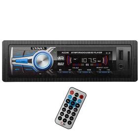 Car Stereo Bluetooth, Control Remoto, Usb, Micro Sd. Aux.