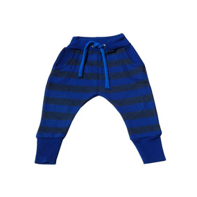 Pantalón Roki Rayas Azul Rey 3-6 M