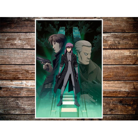 Poster Anime Ghost In The Shell 47x32cm 250grms
