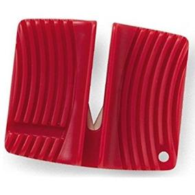 Afiador Amolador De Facas Em Cerâmica Rapala Vermelho