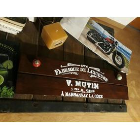 Perchero Industrial Madera Vintage Cafe Deco Mesa Silla Retr