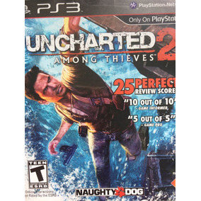 Jogo Ps3 - Uncharted 2 - Seminovo R$40