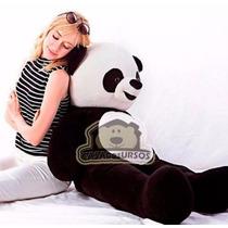 Urso Panda De Pelúcia Gigante 120cm Bicho De Pelúcia Grande