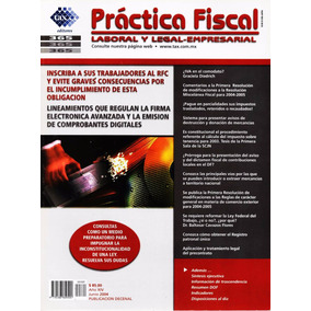Práctica Fiscal - Laboral, Legal Y Empresarial - 2004