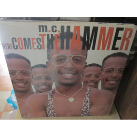 Mc Hammer - Here Comes The Hammer Single Lp Nuevo ---
