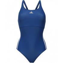 Traje De Baño Entero 3-rayas Mujer Adidas S93097
