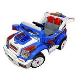 Jeep Eléctrico Azul Control Remoto Padres / Rebajas
