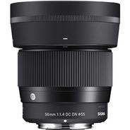 Lente Sigma 56mm F/1.4 Dc Dn Sony E-mount Apsc C/ Nfe