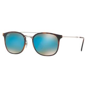 5b04a059ecc39 Ray Ban Rb3449 001 55 Azul Espelhado De Sol Outros Oculos - Óculos ...