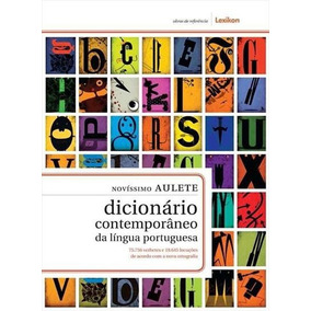 Novíssimo Aulete Dicionario...portuguesa