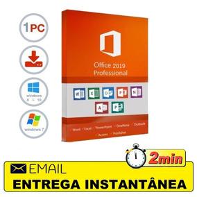 Office 2019 Pro Plus + Ativador Kms - 32 & 64 Bits Português