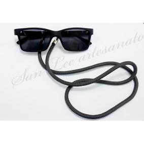 1bfe11cadf90c Cordão Segura Óculos   Salva Óculos Náutico Cinza