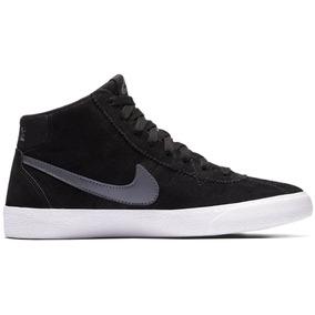 Zapatillas Nike Sb Bruin Hi Negro Blanco Dama!!!!