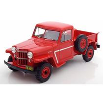 1:18 Jeep Willys Píck Up 1954 Bos Models Jipe Rural Lim 1000