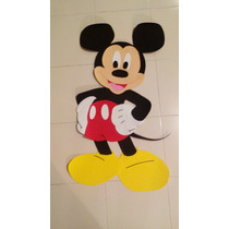 Mickey Mouse Fomi Figuras Decoración Minnie Mickey 1mt
