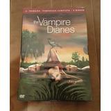 Dvd Vampire Diaries: 1 Primeira Temporada (5 Dvds) (lacrado)